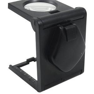 Lupa Cuentahilo Con Luz Led De 25 Mm Y 5x