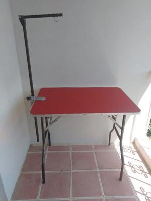 Mesa para estética canina nueva