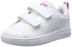 Tenis adidas Infantil Advantage Color Blanco Para Niña