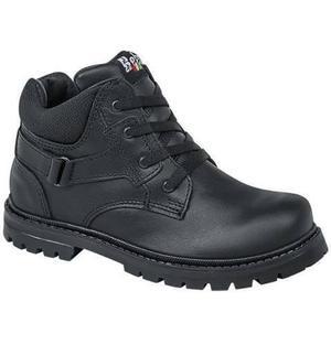 Zapato Escolar Niños Piel Napa  E8g Envio Gratis