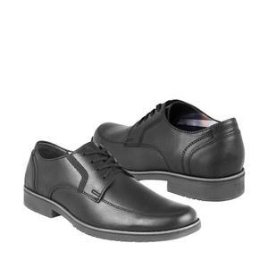 Zapatos De Vestir Flexi Para Hombre Piel Negro