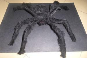 Araña Peluche Gigante 75cm de largo Halloween