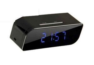 Camara Reloj Oficina Espia Ip Wifi Vision Nocturna - Te369