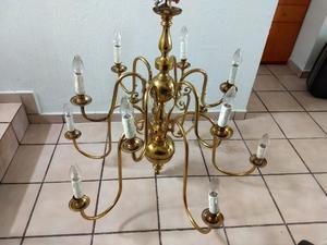 Candil de Latón con 12 luces