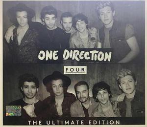 Cd One Direction Four The Ultimate Edition Digipack Nuevo