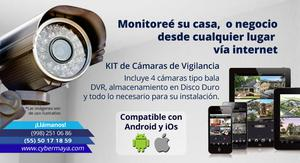 Cámaras de vigilancia en Venta en Cancun