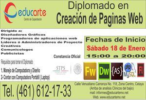Diplomado en Creación de Paginas Web
