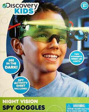 Discovery Kids Gafas De Visión Nocturna Espía