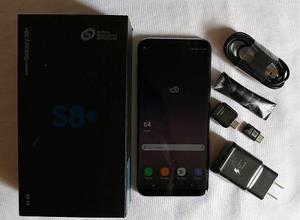 Galaxy S8 Plus, Sm-g955f, Violeta, Como Nuevo,en Caja, Libre
