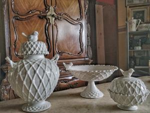 Juego decorativo de tres piezas Victorian birds