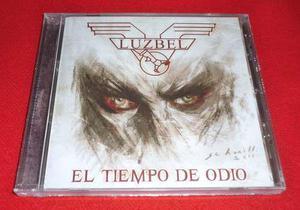 Luzbel - El Tiempo De Odio Cd