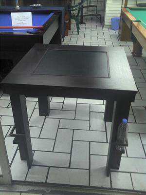 Mesa de Cantina Multijuegos Con Tableros