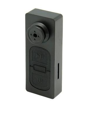 Mini Camara Espia Oculta En Boton Video Y Foto 32gb Con Caja
