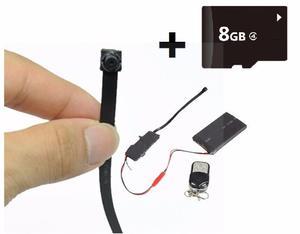 Mini Cámara Espía Batería 24 Horas Sony Fullhd p 16gb