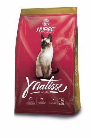 Nupec Matisse 1.5kg Alimento Gato Adulto Super Premium