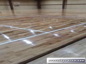 Piso De Madera Para Gym Salón De Baile Cancha De Futbol B