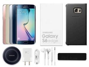 Samsung Galaxy S6 Edge 32gb Nuevo Sellado + Funda + Cristal