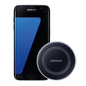 Samsung Galaxy S7 Edge 32gb Negro + Cargador Inalámbrico