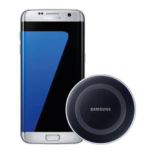 Samsung Galaxy S7 Edge 32gb Plata + Cargador Wireless