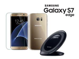 Samsung Galaxy S7 Edge G935v 32gb + Base Inalambrica 12 Msi