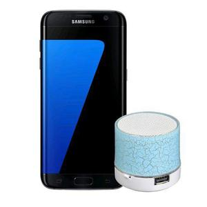 Samsung Galaxy S7 Edge Negro 32gb Msi + Bocina