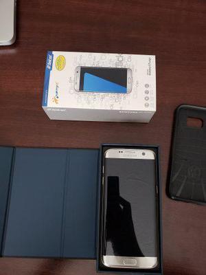 Samsung Galaxy S7 Edge, Silver Titanio, Nacional. Telcel.