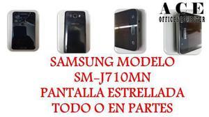 Samsung Mod Sm-j710mn Pantalla Estrellada Todo/partes