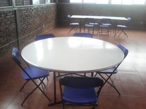 Se vende juego de mesa y sillas plegables en México