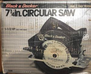 Sierra circular Black & Decker