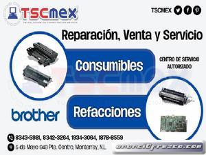 Venta De Refacciones Y Consumibles Brother