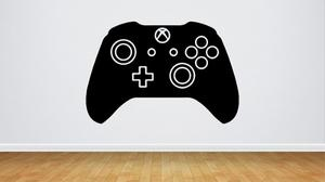 Vinilo Sticker Gamer Play Xbox One Control Videojuegos Geek