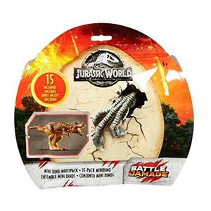 15 Mini Dino Multipack Battle Damage Jurassic World Park 2