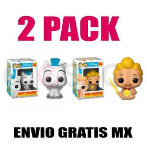 2 Pack Funko Pop Hércules Version  Disney 100% Original