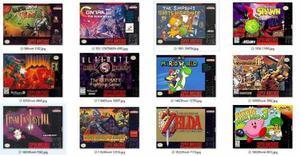 784 Juegos Super Nintendo Snes En Tu Computadora