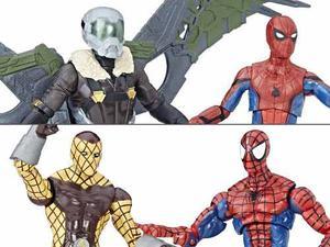 Espectacular Spiderman Set Marvel Legends 4 Figuras Nuevas