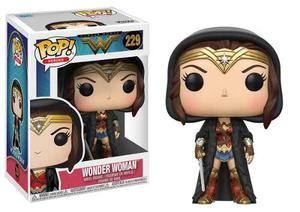 Funko Pop Dc Mujer Maravilla Wonder Woman Movie Cloak 229