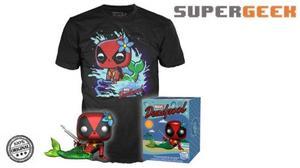 Funko Pop Deadpool Mermaid Sirenita Marvel Targe Talla L (1