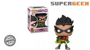 Funko Pop - Teen Titans Go Robin Night Begins To Shine (1)