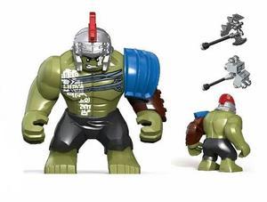 Hulk Ragnarok Figura Compatibles Con Lego Héroes Marvel &