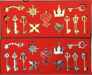Set 13 Pcs Kingdom Hearts Cosplay Envío Gratis