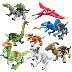 Set 8 Dinosaurios Armables De Jurassic World Compatibles