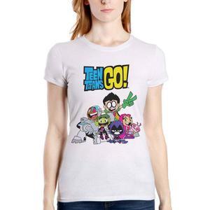 Teen Titans Go Jovenes Titanes En Accion 00 Playera Dc