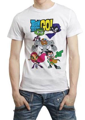Teen Titans Go Jovenes Titanes En Accion Playera Dc