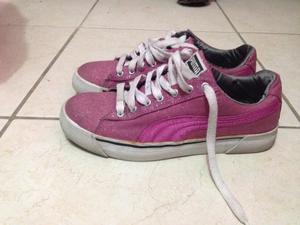 Tenis Puma, Zapatos Rosas, Botas Largas Negras
