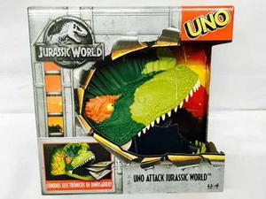 Uno Attack Jurassic World Sonidos Electronicos Mattel