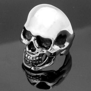 Anillo Cráneo Calavera Plata De Ley.925 Celta Choper Rock