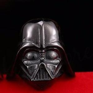 Anillo Saga Star Wars Darth Vader Acero Inox 316l