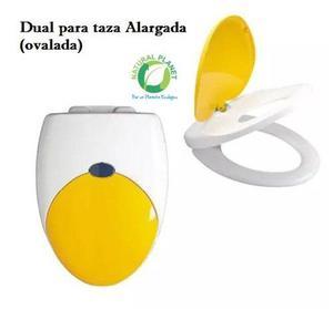 Wc Inodoro Escusado Sanitario Largo Descarga Dual Posot