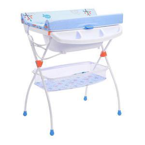 Bañera Para Bebé Con Cambiador Plegable Prinsel Onda