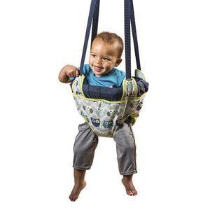 Brincados Para Bebé Evenflo Para Puerta Portátil -marino